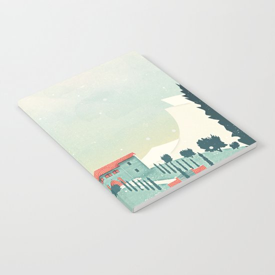 Castle on the Hill Notebook