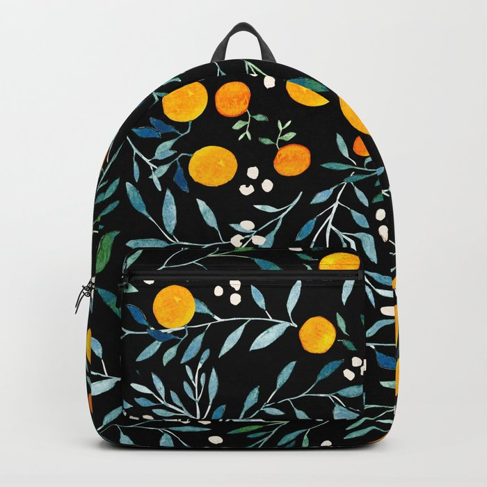 Oranges Black Rucksack