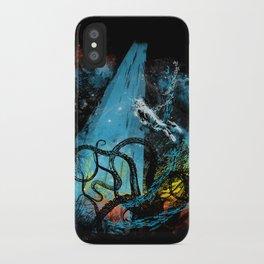 diving danger iPhone Case