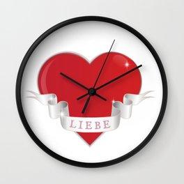 Liebe Wall Clock