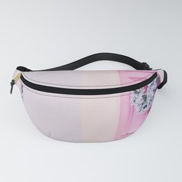 Pink Holiday Door in Notting Hill London England Fanny Pack