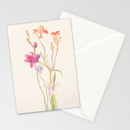 Floral watercolour Stationery Cards
