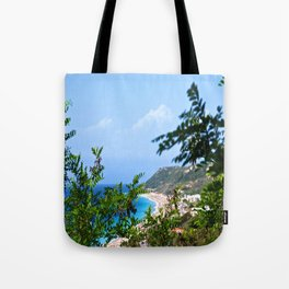 The Sea and Mountains Tote Bag