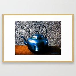 Old Tea Pot Framed Art Print