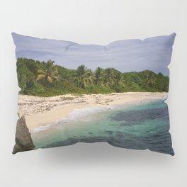 Mon arrivée sur la plage de Cap Macré Pillow Sham