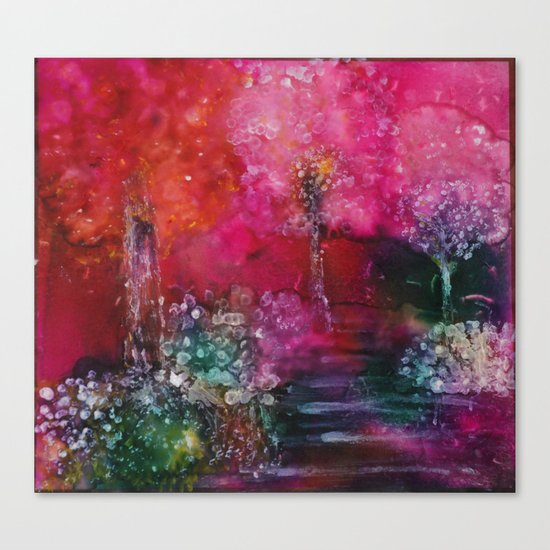 Path  of Glory Painting Canvas Print