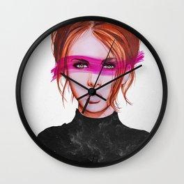 Eternal Gaze  Wall Clock