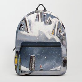 Snowy Hogsmeade Backpack