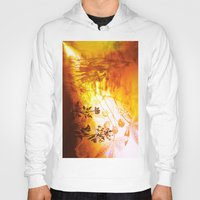 horses Hoodies featuring Horses by Vitta