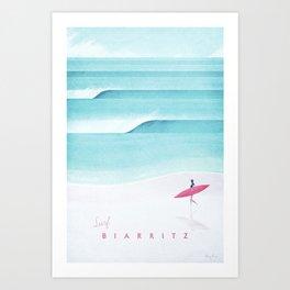 Biarritz Art Print