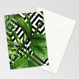 Tropical Jungle Pattern Stationery Cards