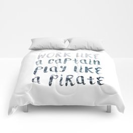 Play Like A Pirate Comforters
