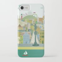 barcelona iPhone & iPod Cases featuring Barcelona by LaPendeja