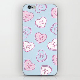 Not You  iPhone Skin