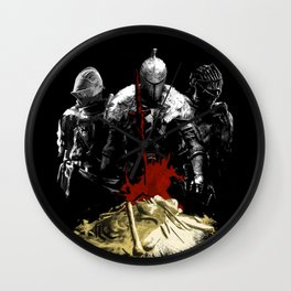 Nameless Accursed Undead Wall Clock