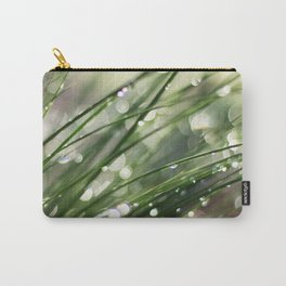 Dew on Grass : Joy Comes in the Morning Carry-All Pouch