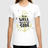 scripture T-shirts featuring It is Well With My Soul by Zeke Tucker