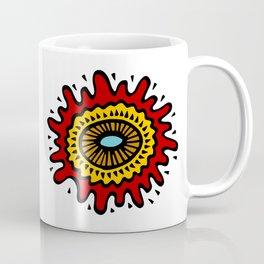 Splashed Mandala Coffee Mug