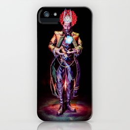Who Controls The Would Be King? iPhone Case