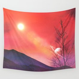 Olympia Mountains Wall Tapestry