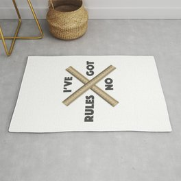 I have no rules Rug