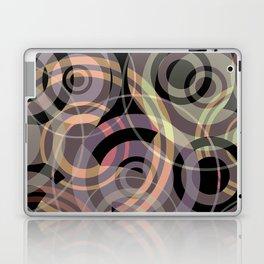 PATTERN-8 [gentle circles] Laptop & iPad Skin