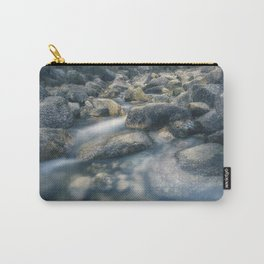 Arado river flowing through the rocks. Carry-All Pouch