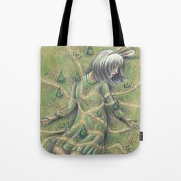 Bunny Girl I:  All Roads Lead to Within Tote Bag