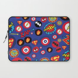 Movie Super Hero logos Laptop Sleeve