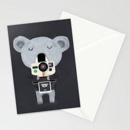 koala cam Stationery Cards