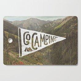 Go Camping Cutting Board
