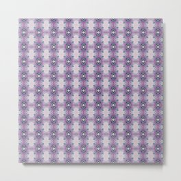 Arabidopsis flower stem microscopy pattern pink Metal Print