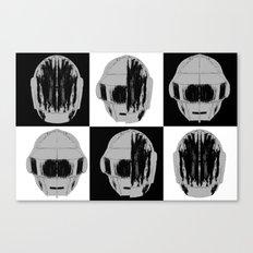 Daft Warhol. Canvas Print