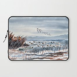 Duck Hunting For Canvasbacks Laptop Sleeve