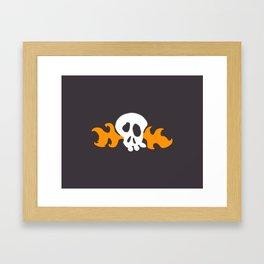 Hoagies Shirt Framed Art Print