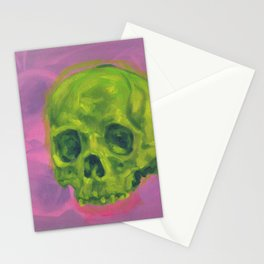 Two Skulls Stationery Cards