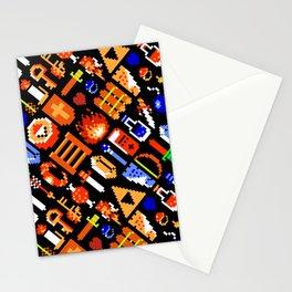 The Legend of Zelda pattern || legendary items Stationery Cards