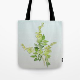 Yellow Tiny Flowers Tote Bag