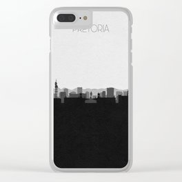 City Skylines: Pretoria Clear iPhone Case