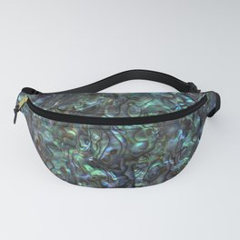 Abalone Shell | Paua Shell | Sea Shells | Patterns in Nature | Natural | Fanny Pack