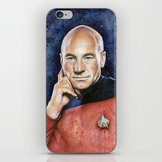Captain Picard iPhone Skin