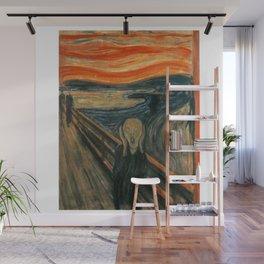 The Scream - Edvard Munch Wall Mural