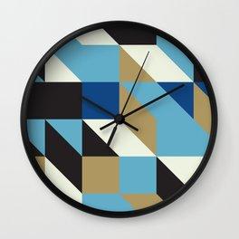 Modular tiles 4 Wall Clock