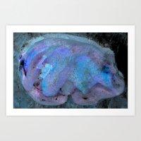 Thunder Bear Totem Sowelu of Wholeness Art Print
