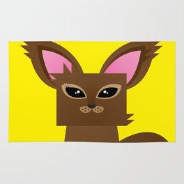 Furry Kitty Rug