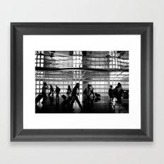 Arriving Home Framed Art Print
