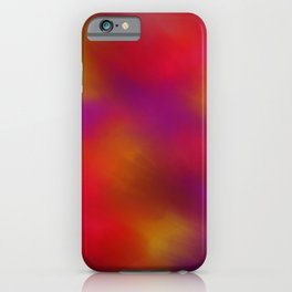 Abstract 398 by Kristalin Davis iPhone Case
