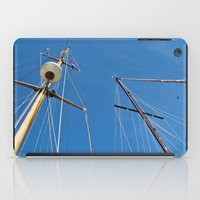 sail iPad Cases featuring Sail by M. Gold Photography
