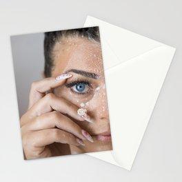 Blue eye'd babe Stationery Cards