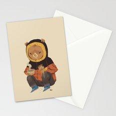 noodle bear Stationery Cards